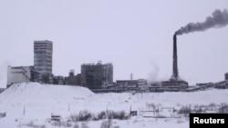 事故地點的俄羅斯煤礦