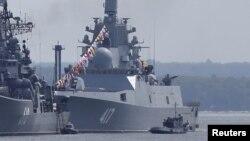 俄罗斯戈尔什科夫海军元帅号护卫舰 - 资料照片