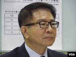 前海基会董事长洪奇昌(申华拍摄)