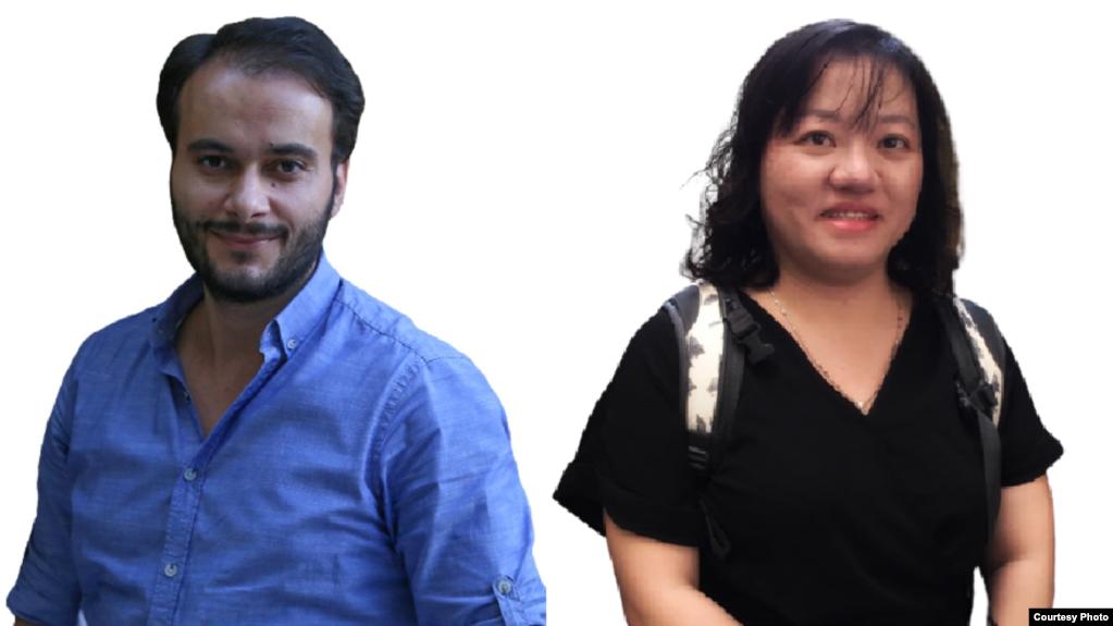 Luật sư nhân quyền quốc tế Kurtulus Bastimar (trái) đã nộp hồ sơ vụ án Phạm Đoan Trang (phải) lên Nhóm công tác LHQ về Giam giữ tùy tiện (UNWGAD), đồng thời ông cho biết sẽ nhận được phán quyết trong tháng 9/2021.
