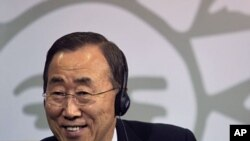 U.N. Secretary-General Ban Ki-Moon, June 14, 2011