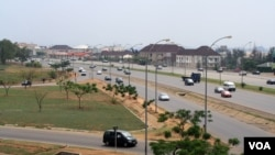 Abuja's meticulously planned city center began developing in the 1980s when officials decided to name the city Nigeria's new capital. The city is in central Nigeria making it accessible to both north and south. (Heather Murdock for VOA)