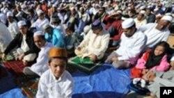 Al'umar Musulmi wajen Salla.