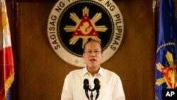 Tổng thốnng Benigno Aquino tuyên bố Philippines sẽ nhất quyết bảo vệ quyền chủ quyền của mình.