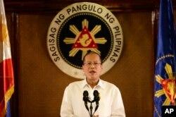 FILE - Philippine President Benigno Aquino.