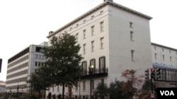 位于华盛顿的美国贸易代表办公室(资料照)