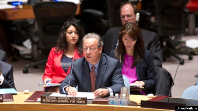 Jamal Benomar, Special Adviser to the Secretary-General on Yemen, briefs the Security Council in New York, Sep. 27, 2013.