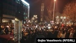 "Bosnia and Herzegovina -- Protest ""Justice for David"" in Banja Luka, December 26, 2018."