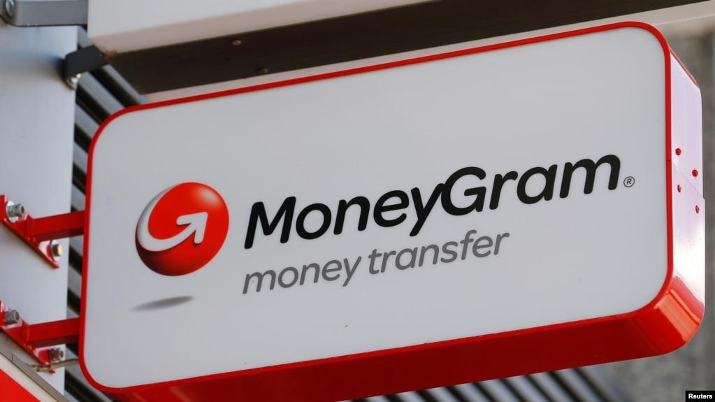 Logo của dịch vụ chuyển tiền MoneyGram.
