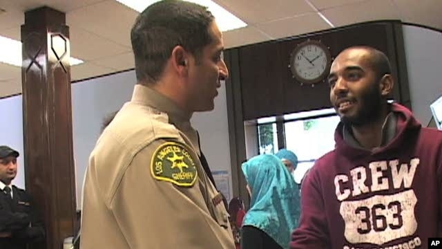 Morsi (l) is a Muslim and a deputy sheriff in Los Angeles