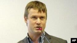 Pemimpin oposisi Leonid Razvozzhayev resmi dikenai tuduhan sebagai dalang kerusuhan di Rusia (foto: dok).