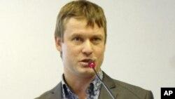 Aktivisis oposisi Rusia, Leonid Razvozzhayev, dituduh terlibat dalam kerusuhan bulan Mei di Moskow (foto: dok).