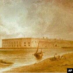 开战前的萨姆特城堡