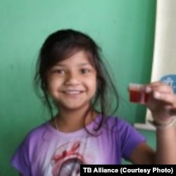 Researchers are lauding a new tuberculosis treatment aimed at children. The medicine is affordable, flavorful and easy to swallow.