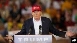 唐納德川普以最強勢、大膽的言論得到了廣泛的認同。