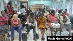 Audience At A Gender-Based Violence Event