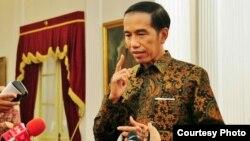 Presiden Joko Widodo di Istana Merdeka, Jakarta (foto: dok. Setpres Biro Pers).