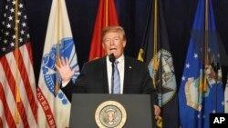 Le président Donald Trump le 3 juillet 2018.