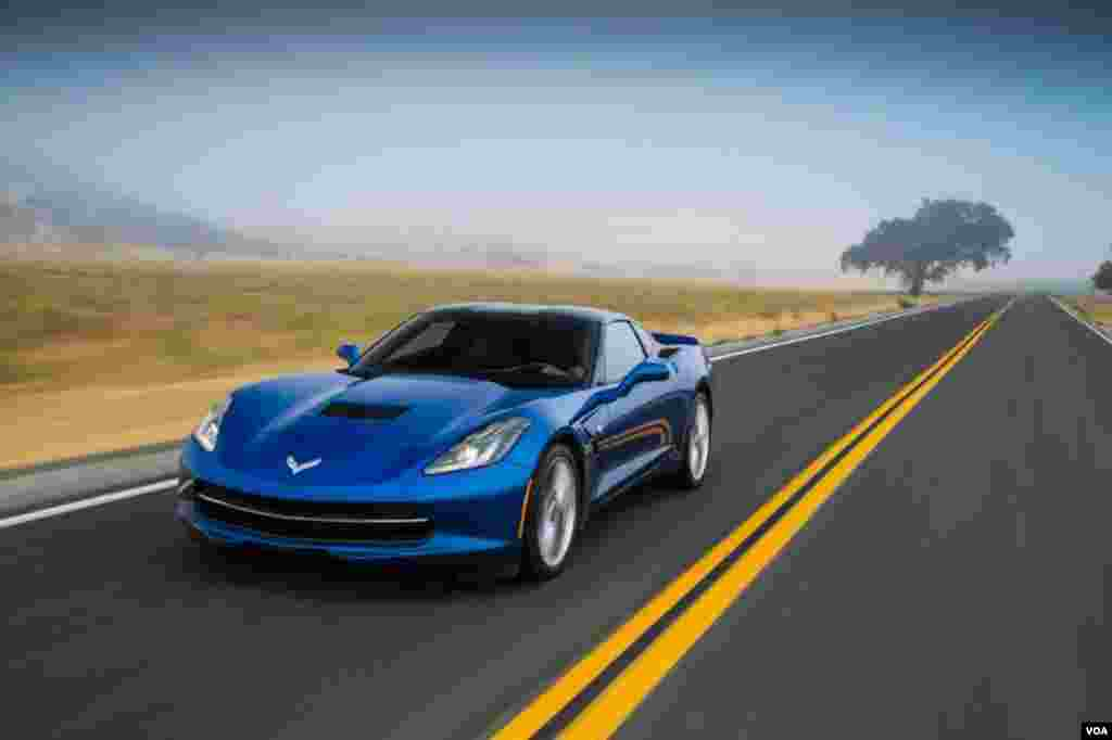 #2 Corvette Stingray