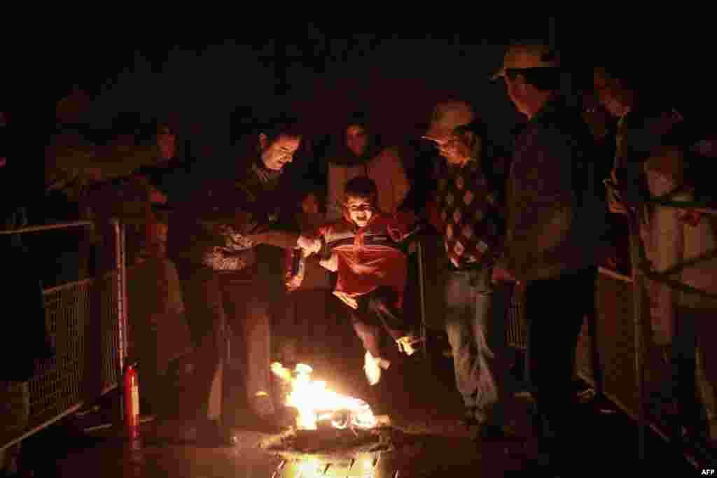 چهارشنبه سوری در ریچموندهیل-اونتاریو