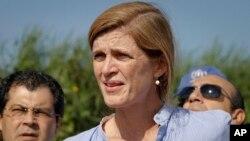 Dubes AS untuk PBB, Samantha Power (foto: dok).
