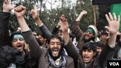 Las manifestaciones en Jalalabad se producen después del ataque presuntamente realizado por un soldado estadounidense que terminó con la muerte de 16 civiles.