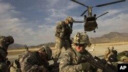在阿富汗得美軍(資料圖片)
