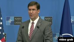 Исполняющий обязанности министра обороны США Марк Эспер