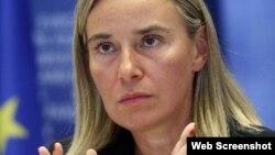 Federica Mogherini, shugabar huldar siyasa ta kasashen turai