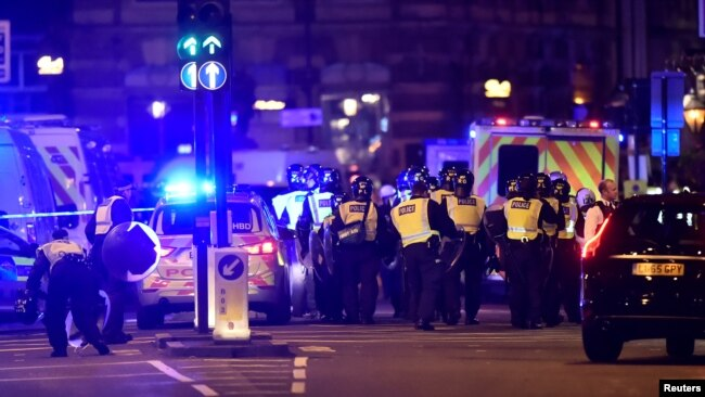 London Attack, June 3, 2017
