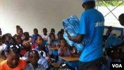 Wadansu yara a wani shirin UNICEF