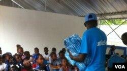 Wayansu yara a wani shirin UNICEF