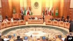 Reunião da Liga Árabe no Cairo