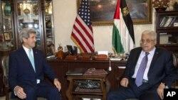 ملاقات تازۀ آقای کری و محمود عباس