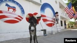 Un admirador del presidente de EE.UU. planeaba regalarle al mandatario un burro llamado 'Demo' en honor al Partido Demócrata.