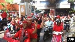 Phe Áo Ðỏ tiếp tục biểu tình chống chính phủ tại thủ đô Bangkok, ngày 20 tháng 3, 2010