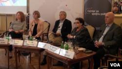 Učesnici debate o odnosima Srbije i Hrvatske