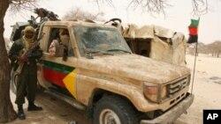 Rebeldes no norte do Mali