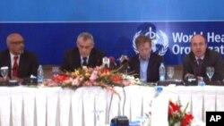 عالمی ادارہ صحت کے عہدیداران اسلام آباد میں منعقدہ تقریب میں