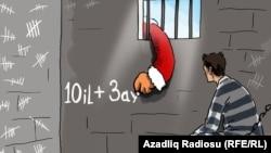 Qiyas İbrahimov barədə karikatura