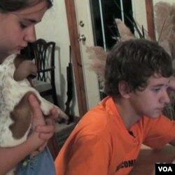 Dmitry i Dasha sada žive u američkom domu sa američkim roditeljima u Texasu