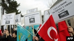 Ankara'da Fransa aleyhine gösteri