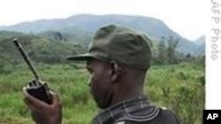 Mwanamgambo wa FDLR akiwa eneo la Goma , Drc.