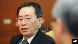 중국의 6자회담 수석대표인 우다웨이 외교부 한반도 사무 특별대표. (자료사진)