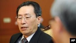 중국의 6자회담 수석대표인 우다웨이 외교부 한반도사무특별대표. (자료사진)