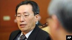 중국의 6자회담 수석대표인 우다웨이 외교부 한반도 사무 특별대표.