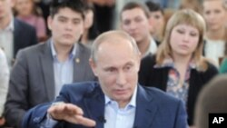 俄羅斯現任總理普京將再次競選總統