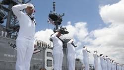 环太2016军演开始 美军称要包容