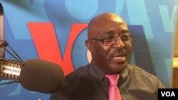 Belchior Lanzo Tati, secretário-geral da Frente Consensual Cabindesa (FCC)