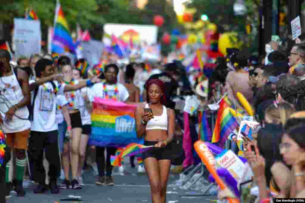رژه دگرباشان جنسی در نیویورک